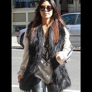 BSABLE Jackets & Blazers - BSABLE Faux Fur Vest XS ASO Kourtney Kardashian