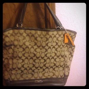 Coach tote bag authentic