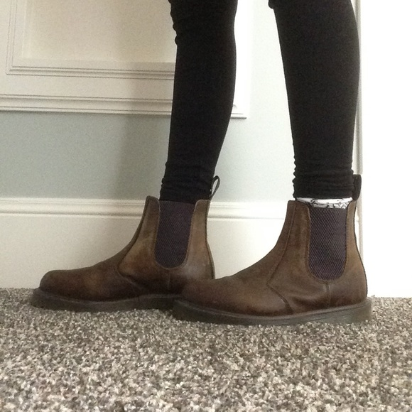 dr martens dr martens chelsea boots from s closet