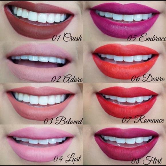 milani amore matte lip creme 11 precious
