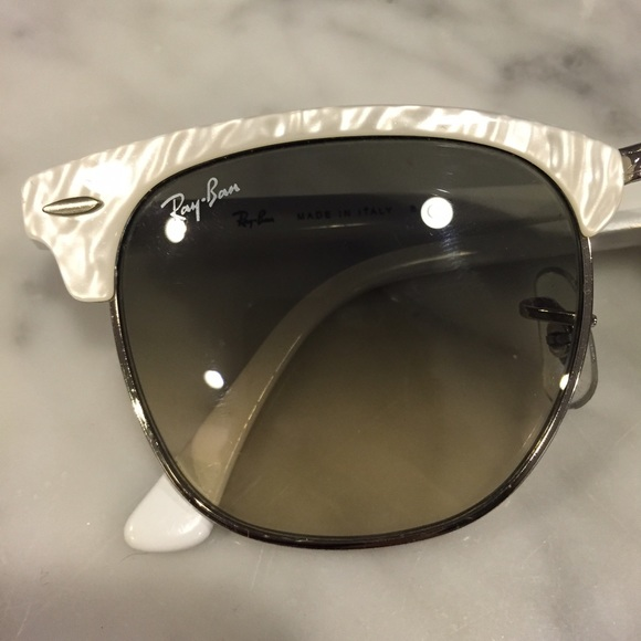 clubmaster sunglasses silver ubxr  Ray-Ban Accessories