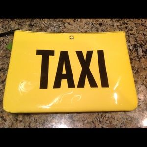 HP Kate Spade Taxi Gia Pouch or Clutch NWT