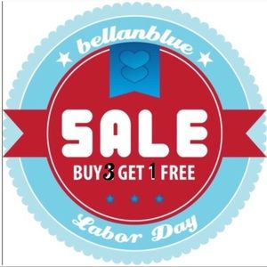 BUY 3, GET 1 FREE Labor Day Sale