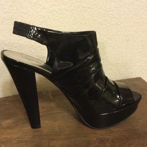City Streets Shoes - Black high platforms