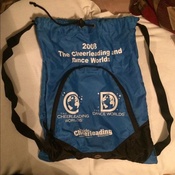 2008 Cheerleading Worlds Drawstring Bag M 55e911d2d14d7b8eba003cd0