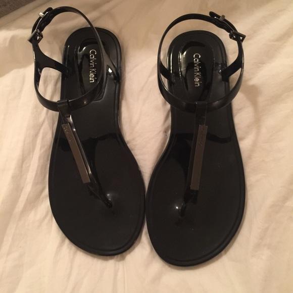 22db74348ae2 Calvin Klein Shoes - Calvin Klein jamila jelly sandals