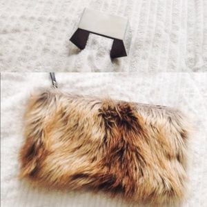 | Reserved | ASOS Faux fur clutch x COSstores cuff