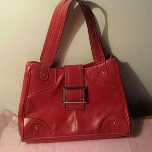 Handbags - Love at first sight ! vintage red purse$nice