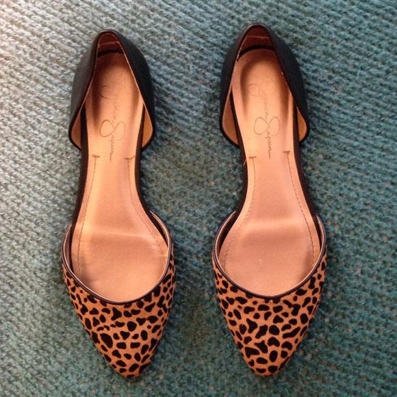jessica simpson shoes leopard print