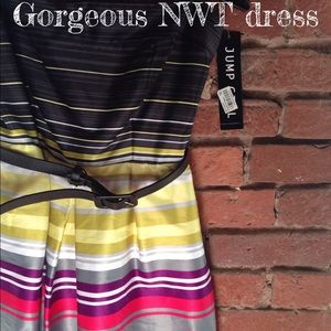 Jump girl Dresses & Skirts - NWT black and pink tube dress