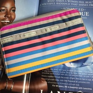 "LeSportsac Handbags - LeSport Sac ""Lily"" Wallet in fun Stripes: New!"