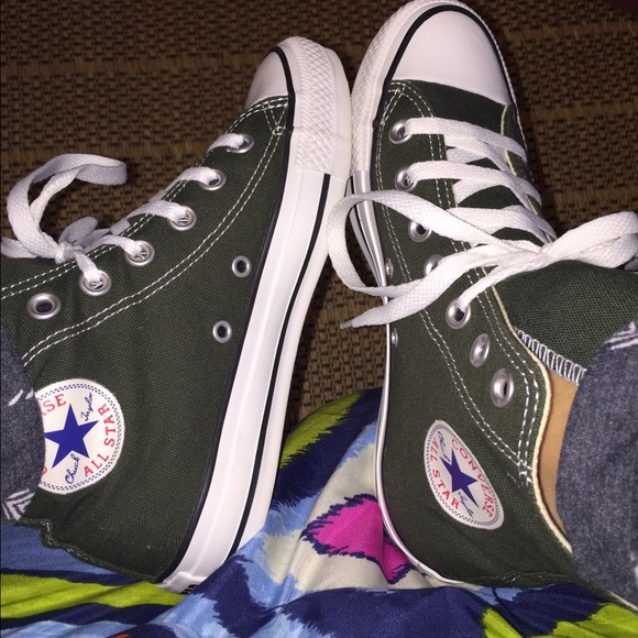 22f76127ce4f Converse Other - Hunter Green high top converse men s size 4