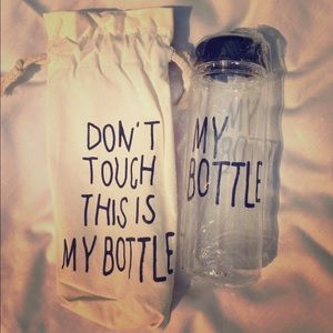 Jackets & Blazers - Water bottle for the gym enthusiast!!