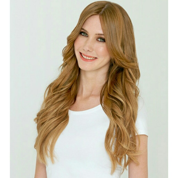 Luxy Accessories Hair Extensions Strawberry Blonde Like New Poshmark
