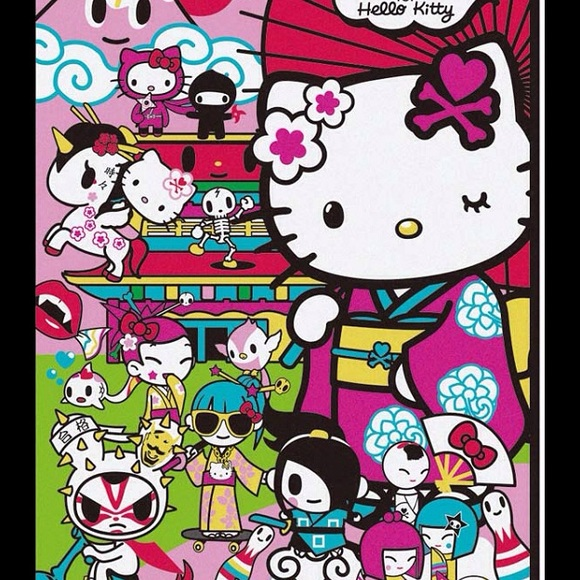 Hello Kitty Tokidoki Blanket: 93% Off Tokidoki Accessories