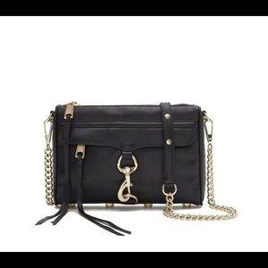 Rebecca Minkoff Black Mini MAC Cross-Body Handbag