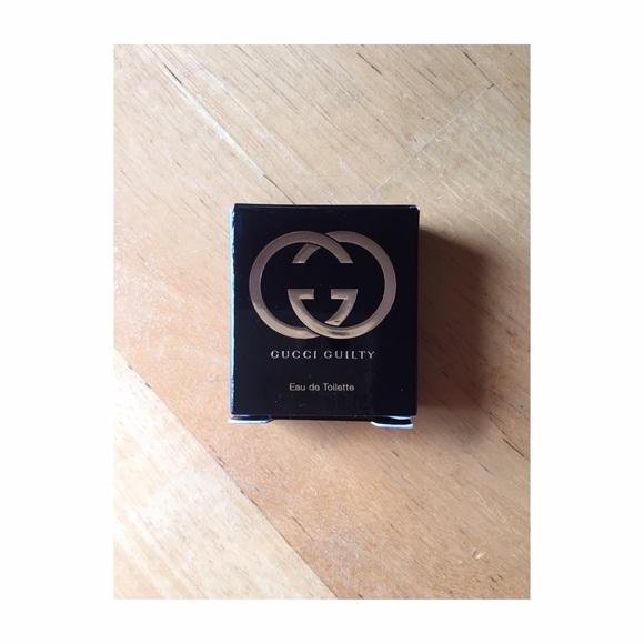 Gucci guilty perfume sample