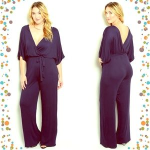 Boutique Pants - 🆕Sexy navy romper