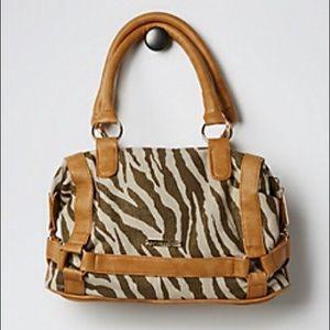 NWT! Rampage Zebra Handbag / Satchel
