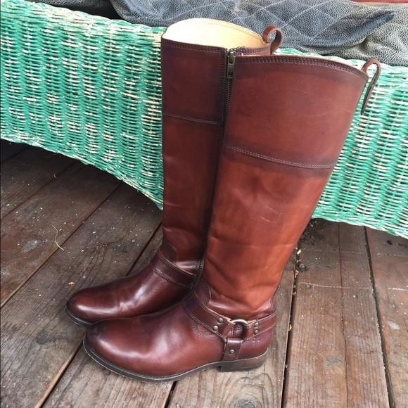 Frye Shoes | Melissa Harness Tall Boots | Poshmark