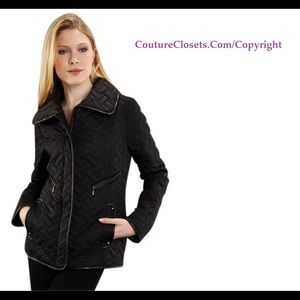 NEW AUTHENTIC COLE HAAN QUILTED JACKET COAT SZ: S