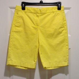 J. Crew Other - J Crew bright yellow bermuda  shorts