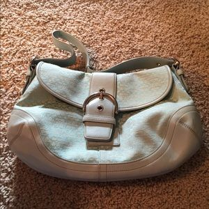 Coach Handbags - Light blue coach purse