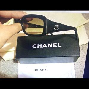 Accessories - Chanel Signature Swarovski Crystal Sunglasses