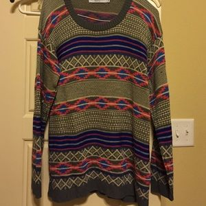 Cotton Emporium Sweaters - Aztec sweater!