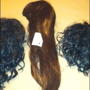 Synthetic wig bundle