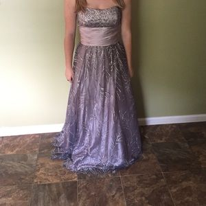 40% off Jump apparel Dresses & Skirts - Black lace prom dress from ...