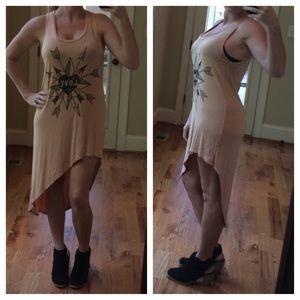 Hyssop Dresses & Skirts - Hyssop high low love dress boho chic coachella