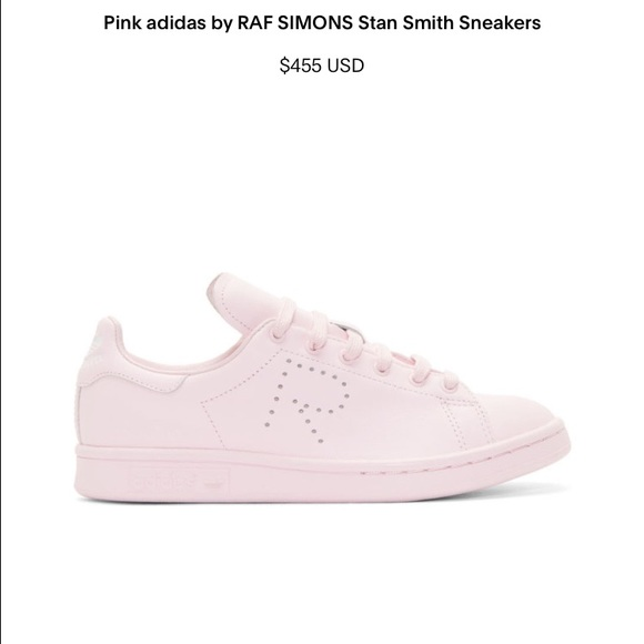 sports shoes c33ae 74c48 Adidas Shoes - Adidas Raf Simons Stan Smith Pink (Kanye West)