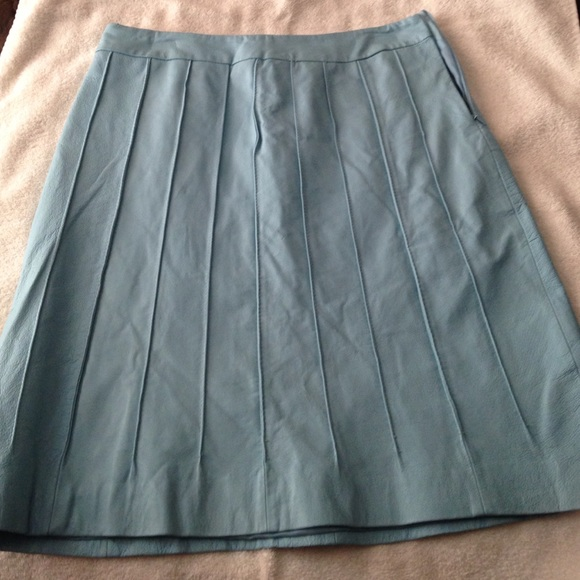 metro style genuine leather skirt from valerie s