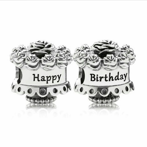 Superb Pandora Jewelry Birthday Cake Charm Poshmark Birthday Cards Printable Opercafe Filternl