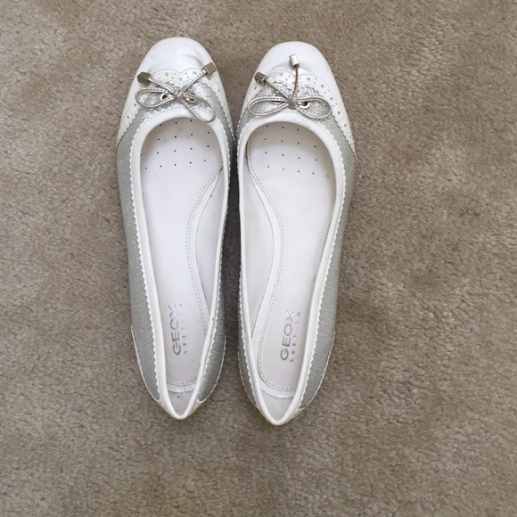 77 geox shoes geox white patent leather flats from