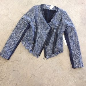Jackets & Blazers - Cropped knitted jacket