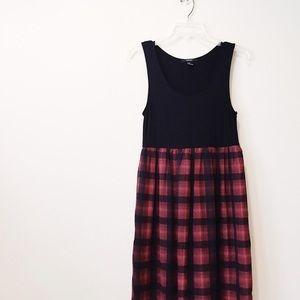 F21 - (personalized) Plaid Maxi Dress