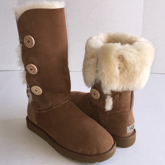 UGG Australia Tall Bailey Button Boots