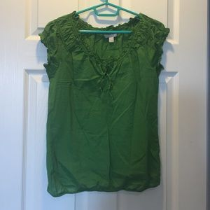 Green old navy shirt
