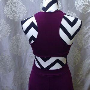 Dresses & Skirts - SALE Purple Cut Out Dress