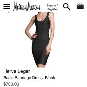 c64e9acb793225 Herve Leger Dresses - 🎉HP🎉THE Herve Leger Dress Black Classic