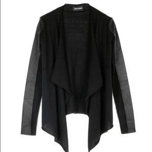 Zadig & Voltaire Sweaters - Zadig & Voltaire Deluxe Leather & Wool Cardigan 🌺