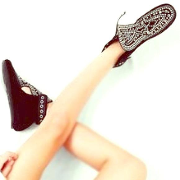 24455e6a075 Isabel Marant Shoes | Morley Studded Moccasin Boots Sz 39 | Poshmark
