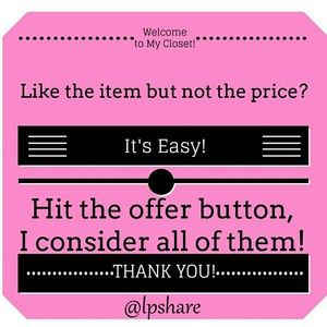 Other - 💖MAKE ME A REASONABLE OFFER! 😃 💖