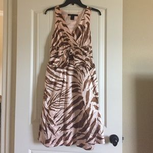 Marc By Marc Jacob Tiger Print Dress
