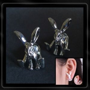 Jewelry - EASTER bunny earrings6 available 