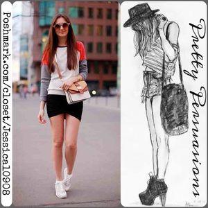 T by Alexander Wang Dresses & Skirts - SALE‼️Alexander Wang Black Twisted Hem Mini Skirt