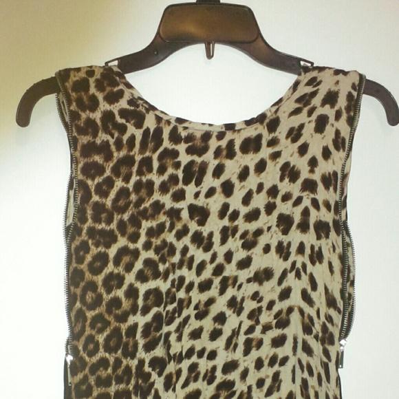 Zara Leopard Blouse 43