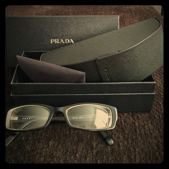 50116a116381 Prada VPR19L Eyeglasses. M 55eb899a4225bec37100f193. Other Accessories ...